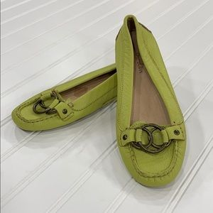 Boden Lime Green Loafers - sz 37